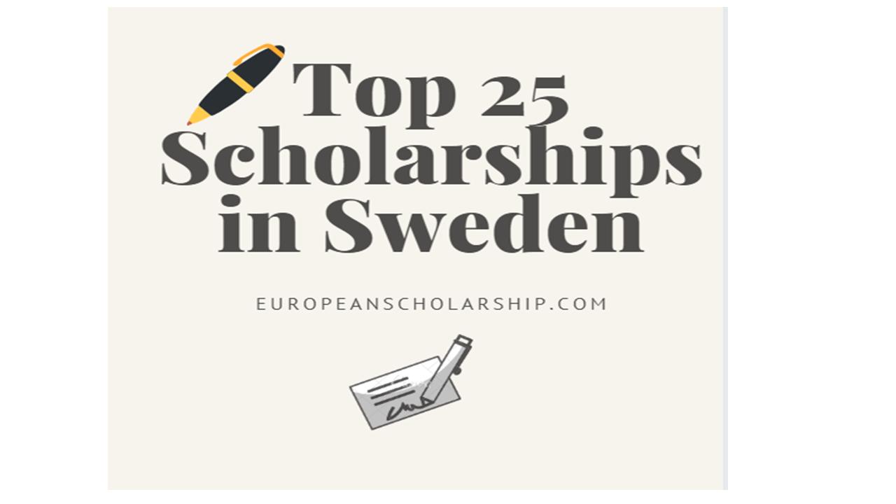Top 25 Scholarships in Sweden