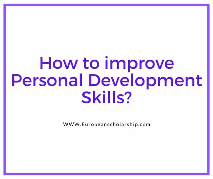 Personal development skills