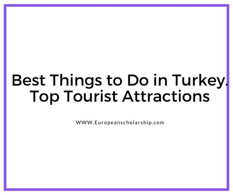 Things to do in Turkey-Top Attractions In Turkey