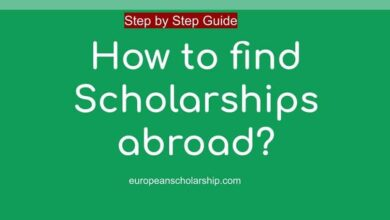 How to find Scholarships abroad?