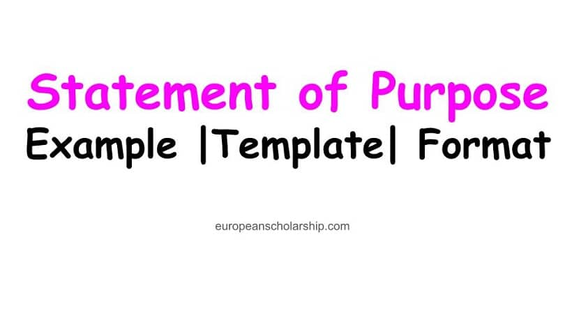 How to Write a Statement of Purpose for a Scholarship?