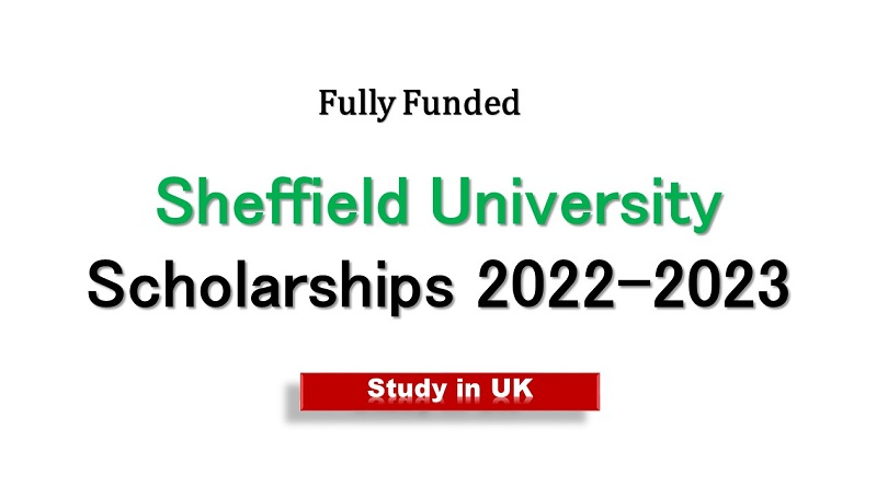 Sheffield University Scholarship