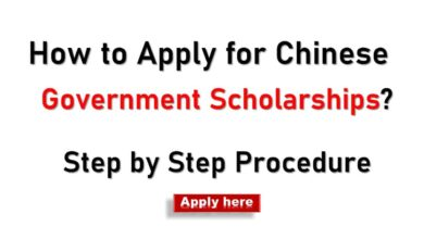 How to Apply for Chinese Government Scholarship (CSC)