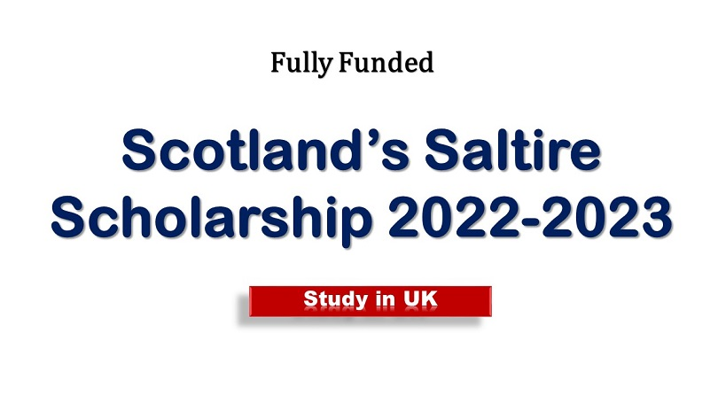 Scotland's Saltire Scholarship
