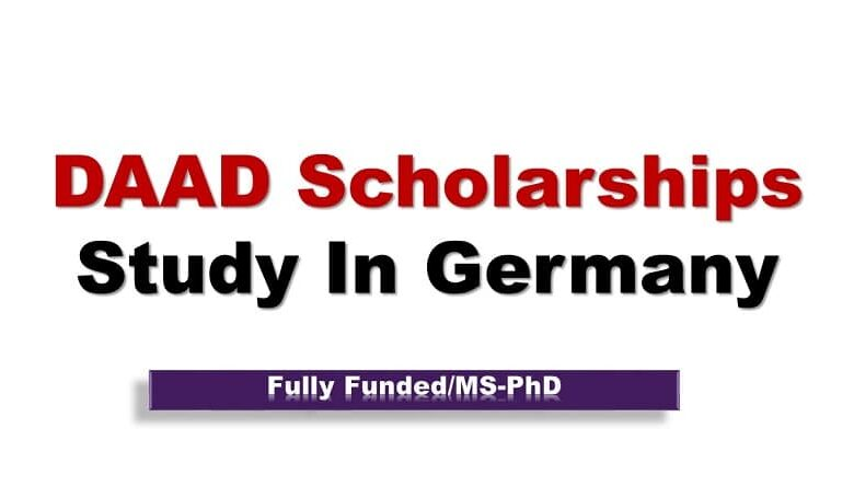 Fully Funded DAAD Scholarships in Germany