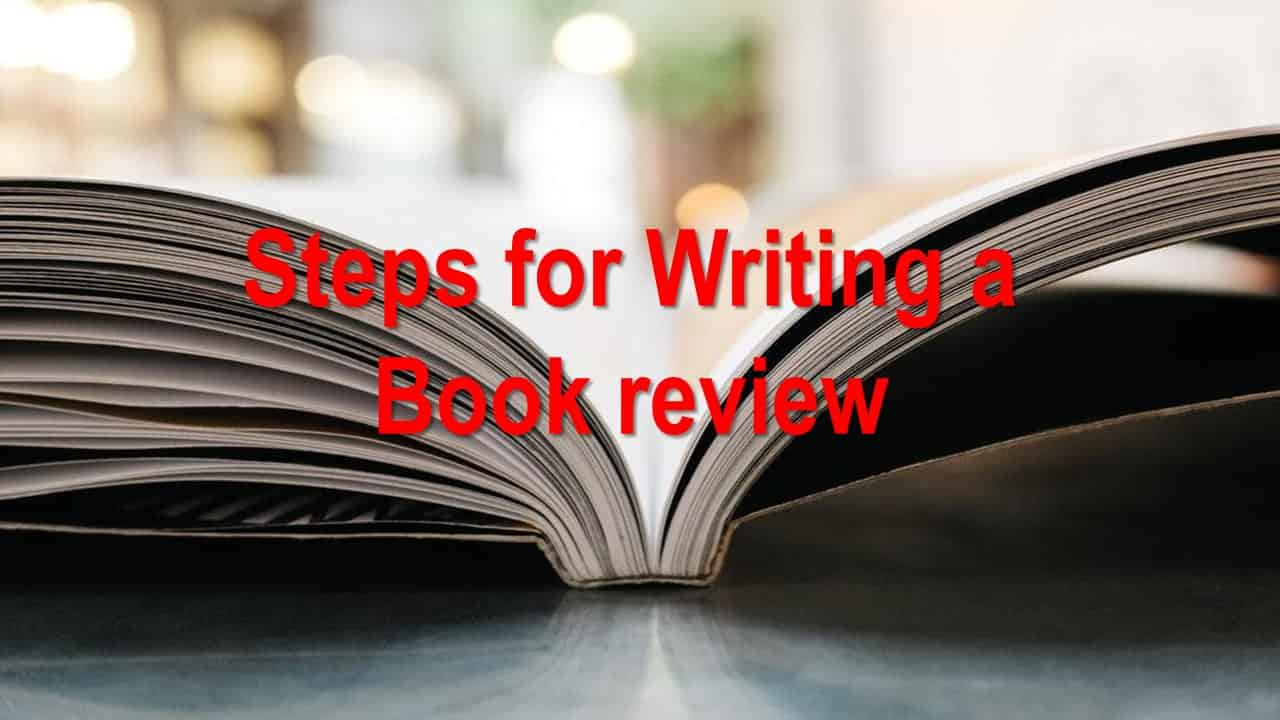 Steps for Writing a Book Review