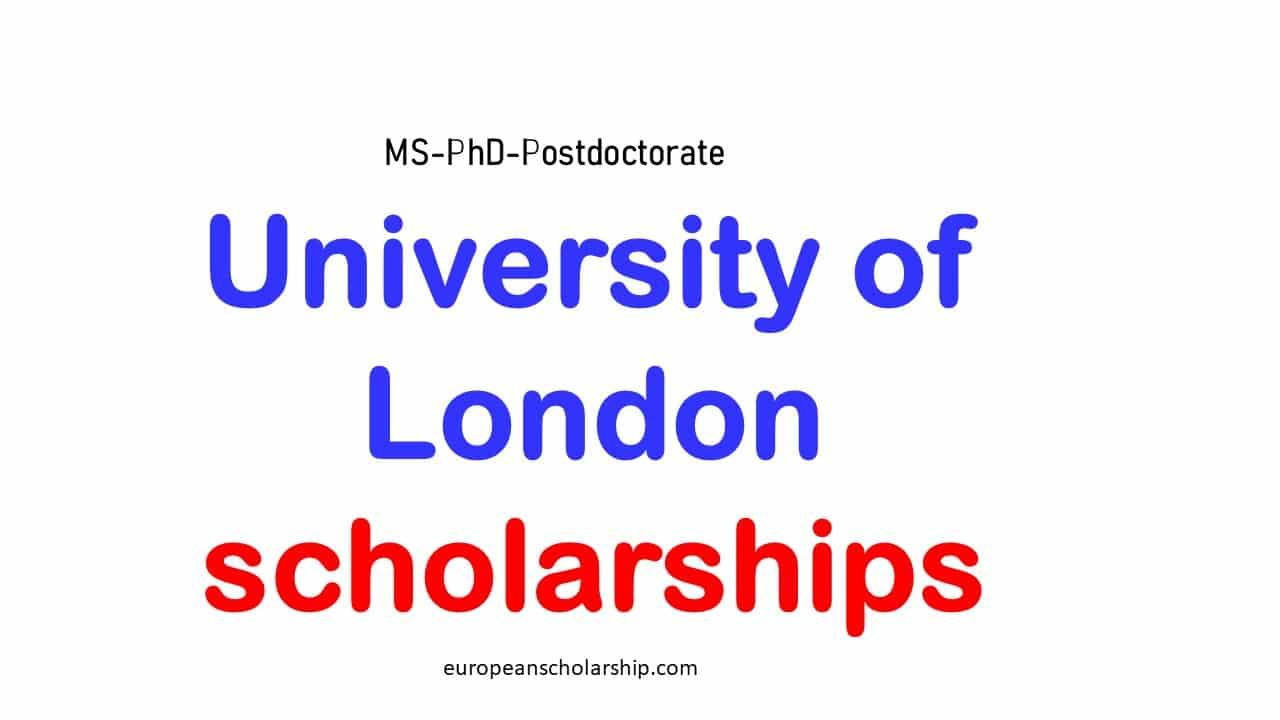 University of London Scholarships